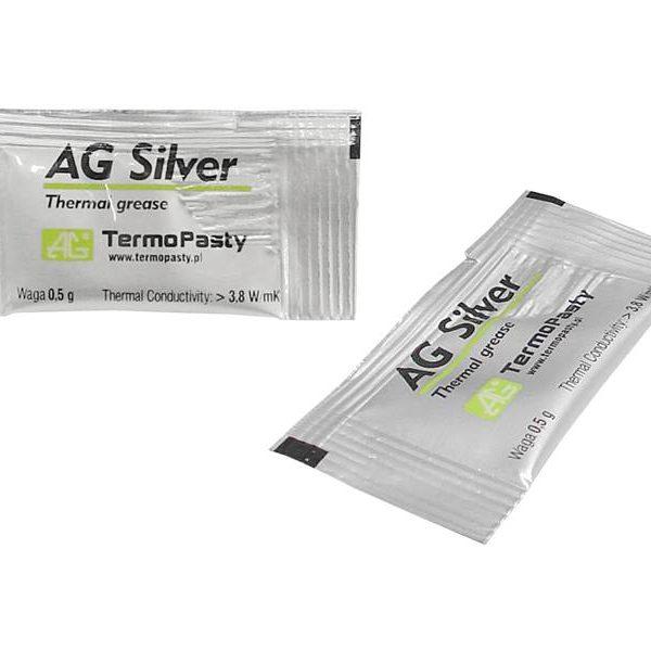 Pasta termoprzewodząca AG Silver 0,5g.